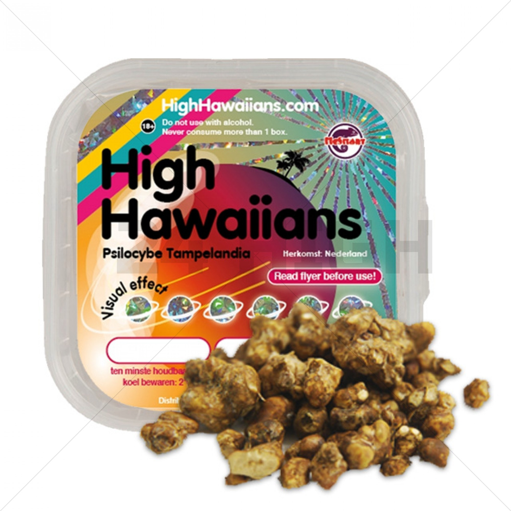 High Hawaiians Truffels