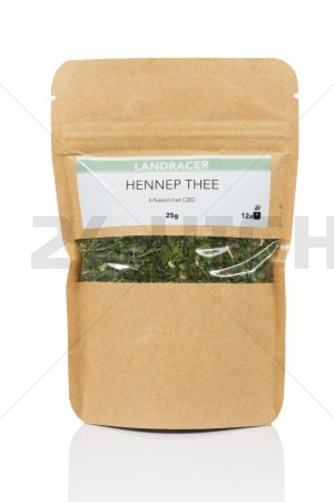 Landracer Hemp tea infused with Cannabidiol