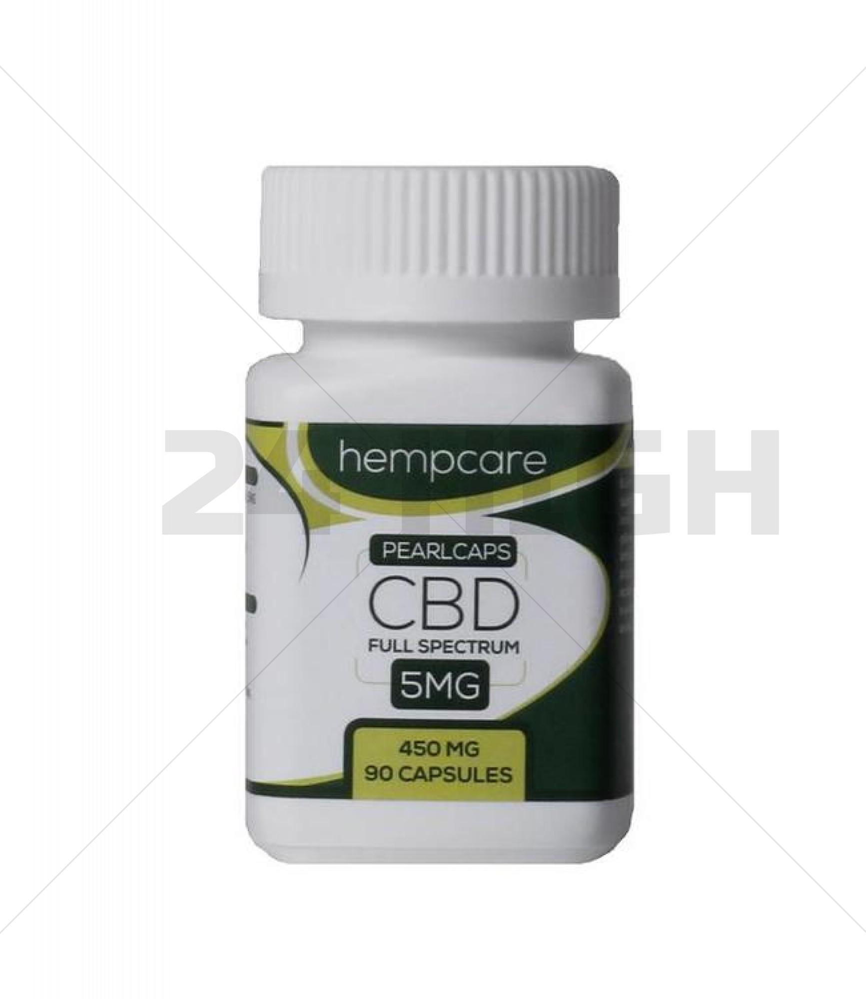 Hempcare CBD Pearlcaps 5 MG