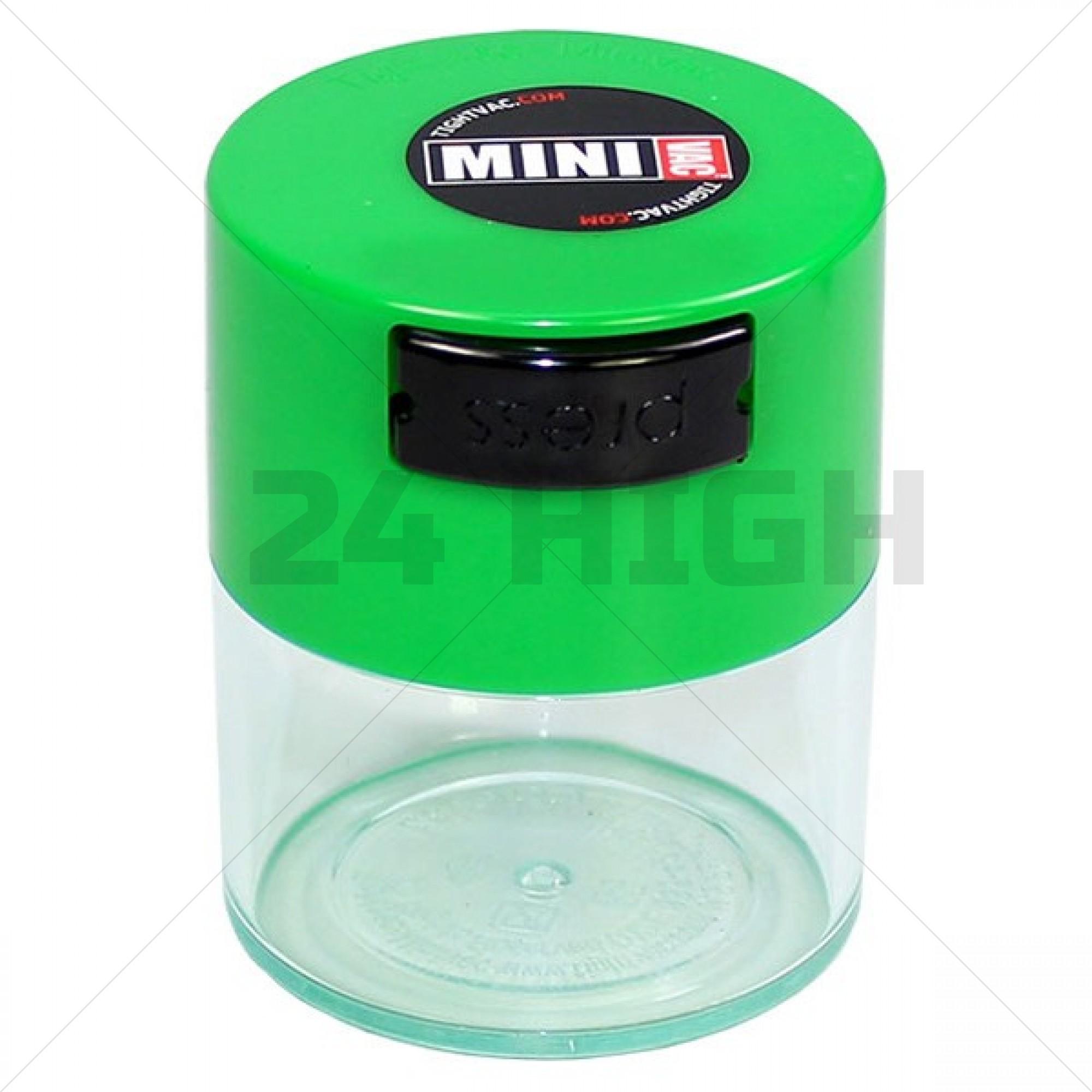 Tightvac 0,12 liter Mini Clear Light Green Cap