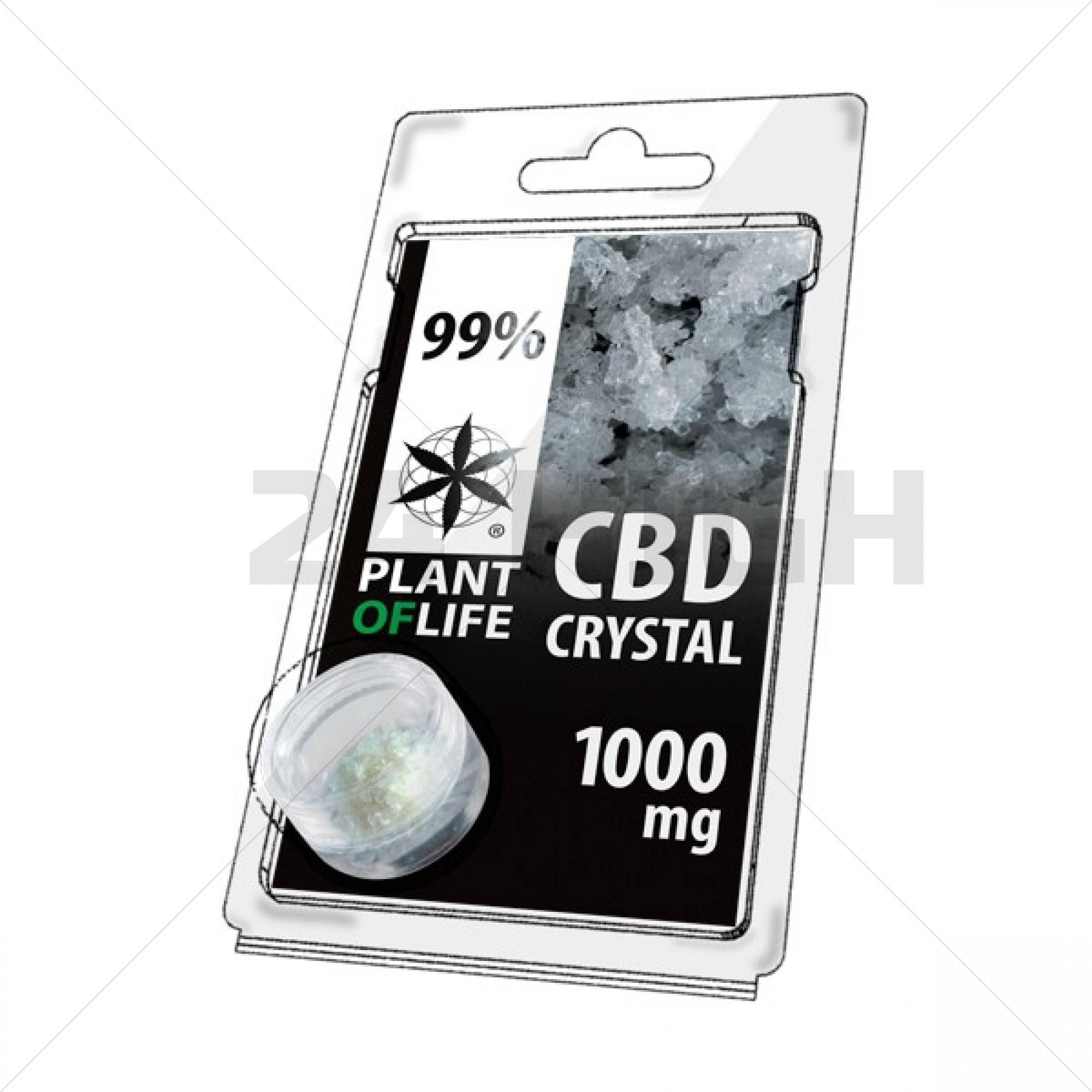 CBD Crystals 1000mg Plant Of Life