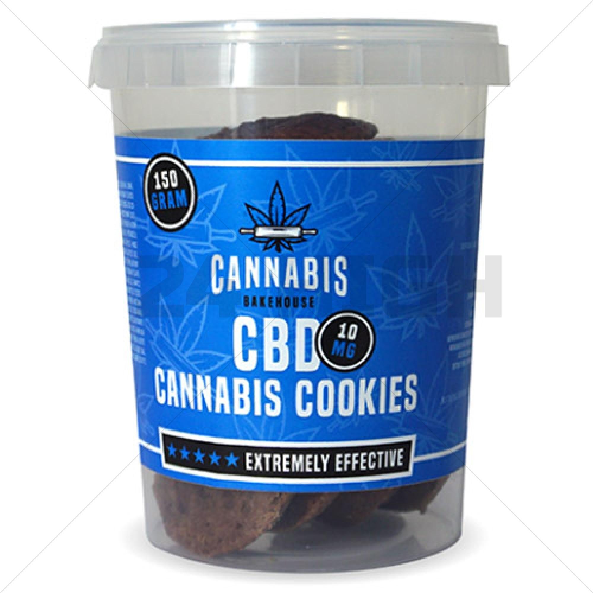 Cannabis Bakehouse CBD Cookies