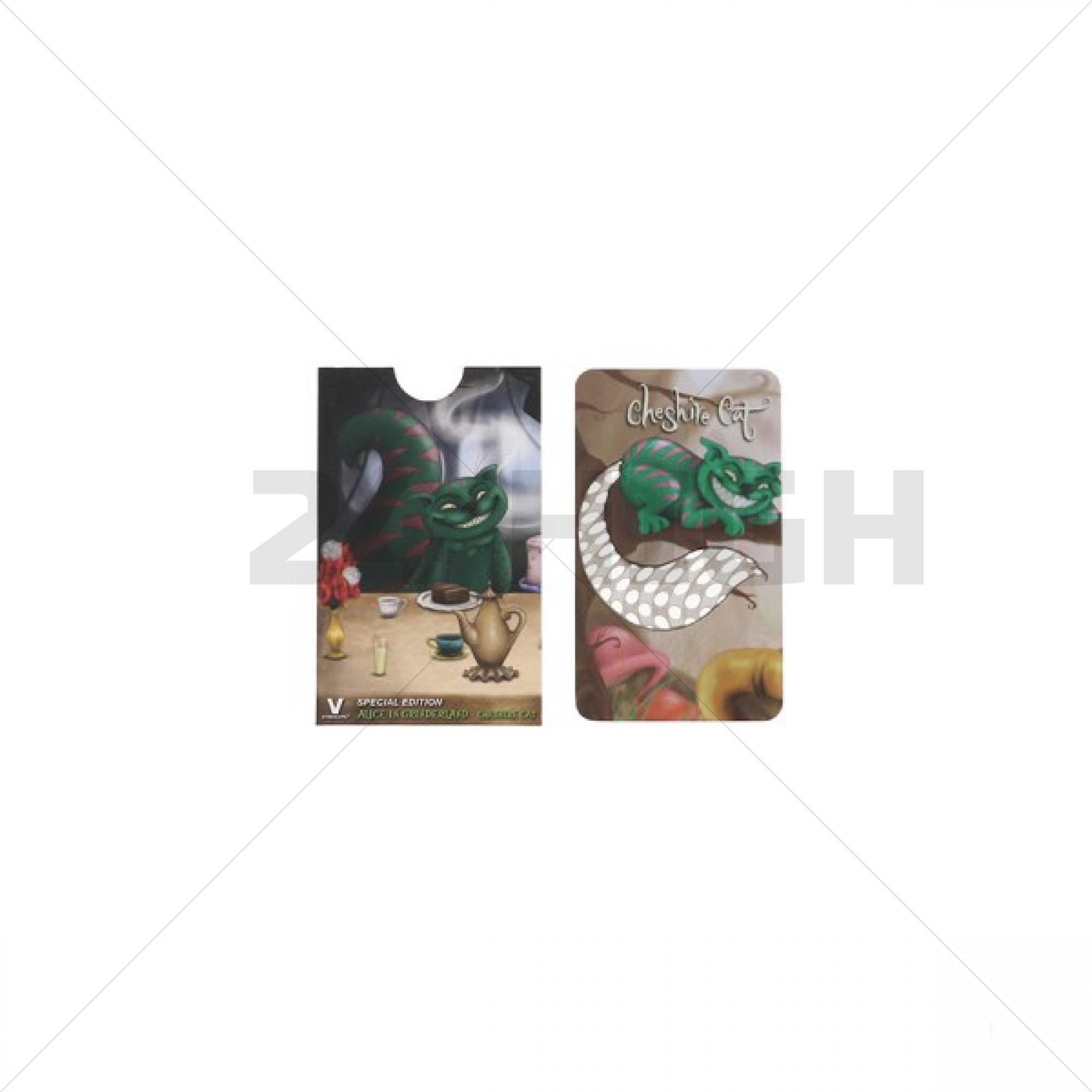 Card Grinder Alice in Grinderland - Cheshire