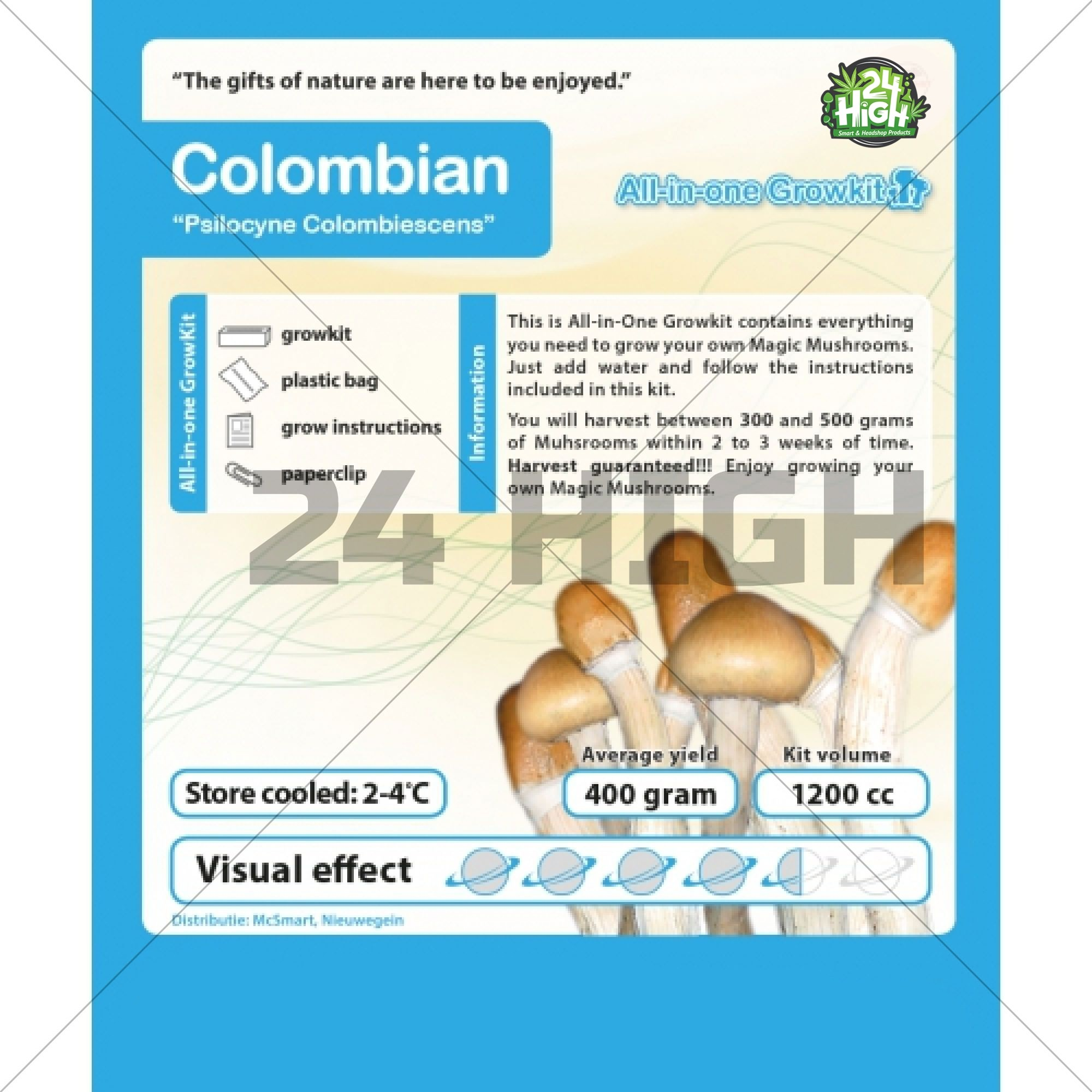 Colombian All in one Growkit