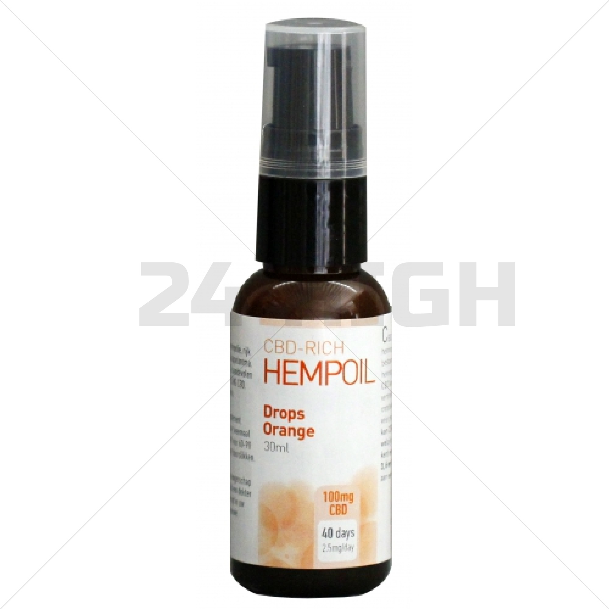 Organic CBD Drops Orange - 30 ml / 60 ml