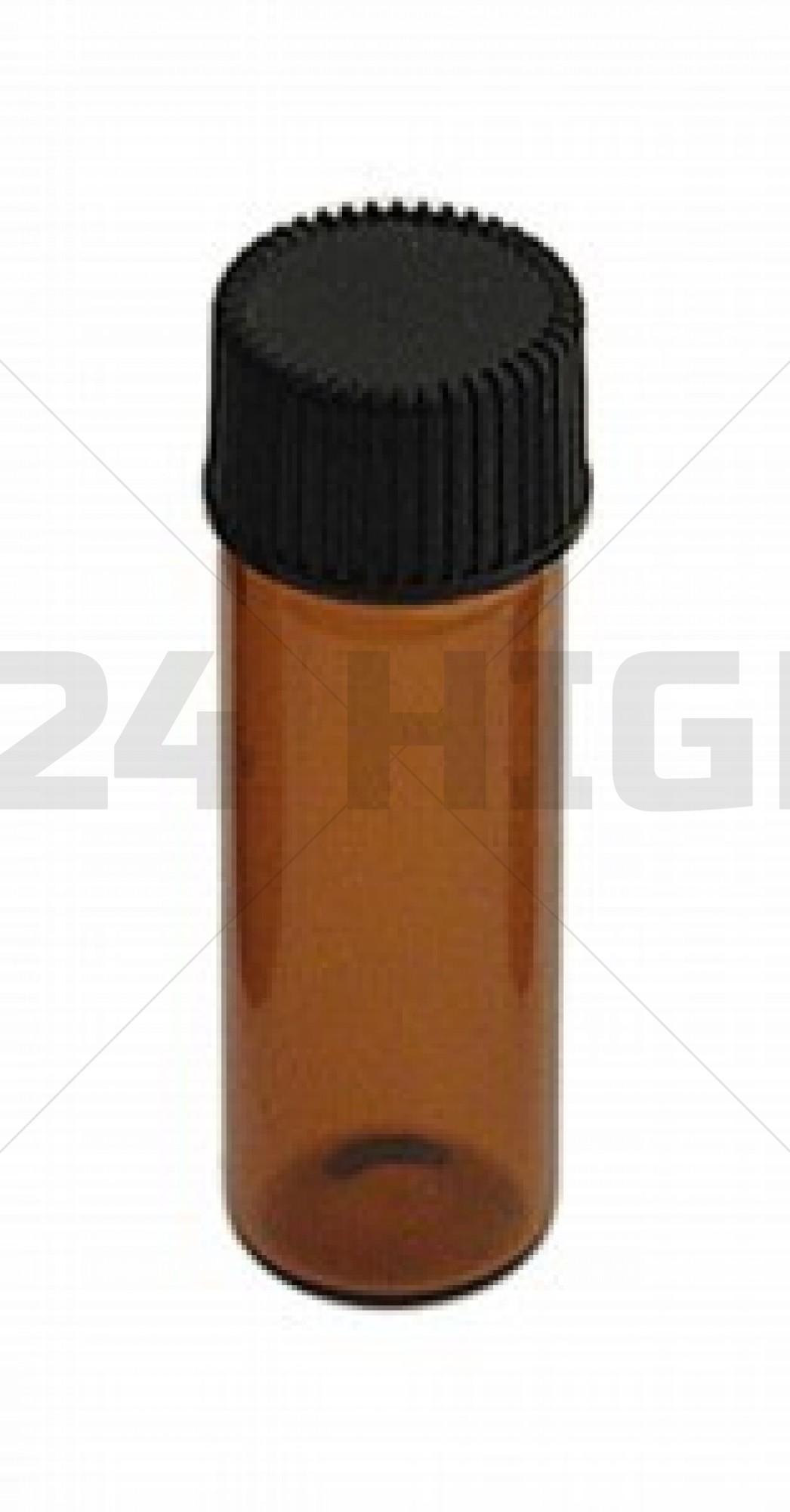 Large Amber Glass Bottle