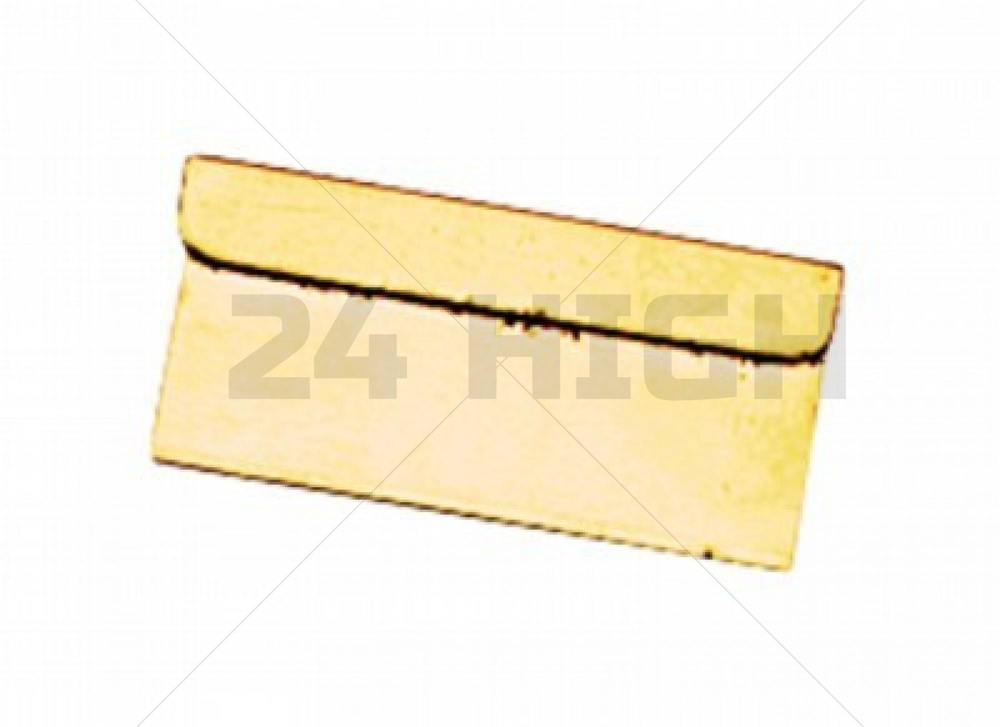 Gold Razor Blade