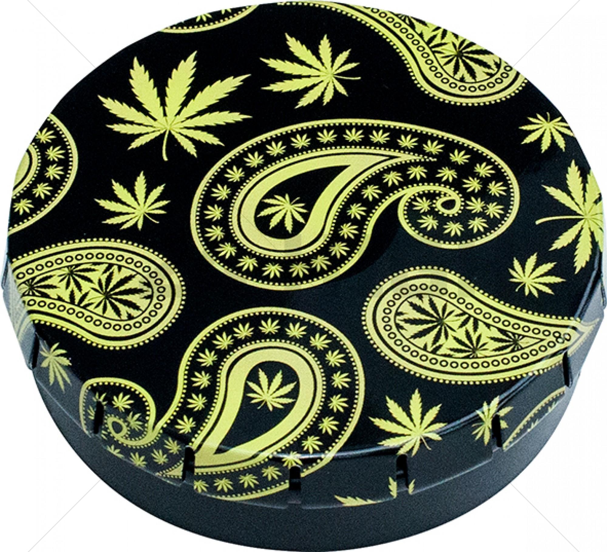 Click-Clack Box (Ø 5,5 cm) Paisley Weed