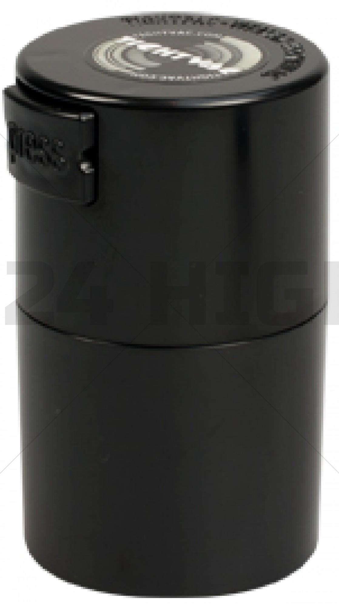 Vitavac 0,06 liter Pocket Solid Black Cap