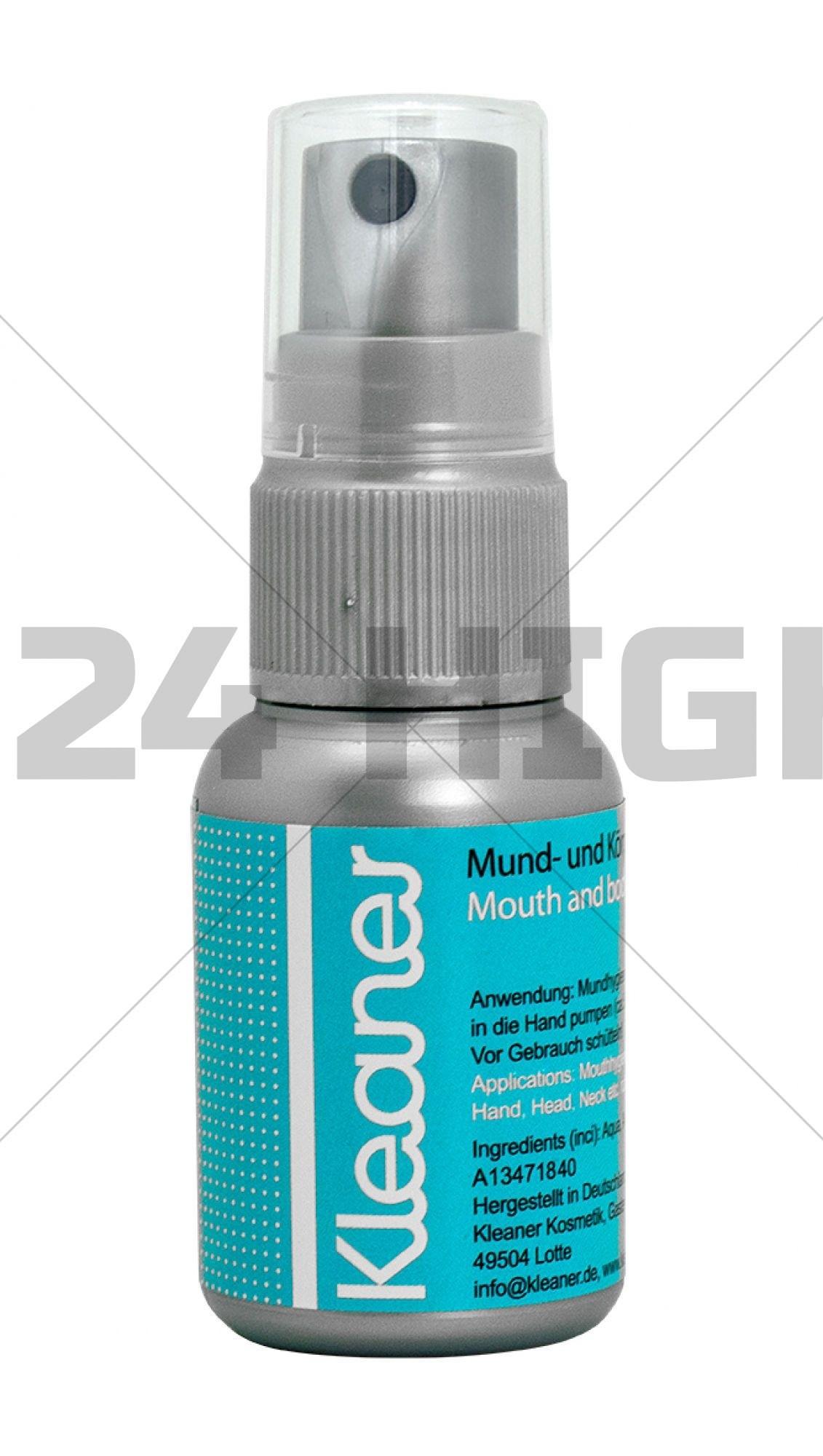 Kleaner Bottle 30 ml (elimina trazas de drogas)
