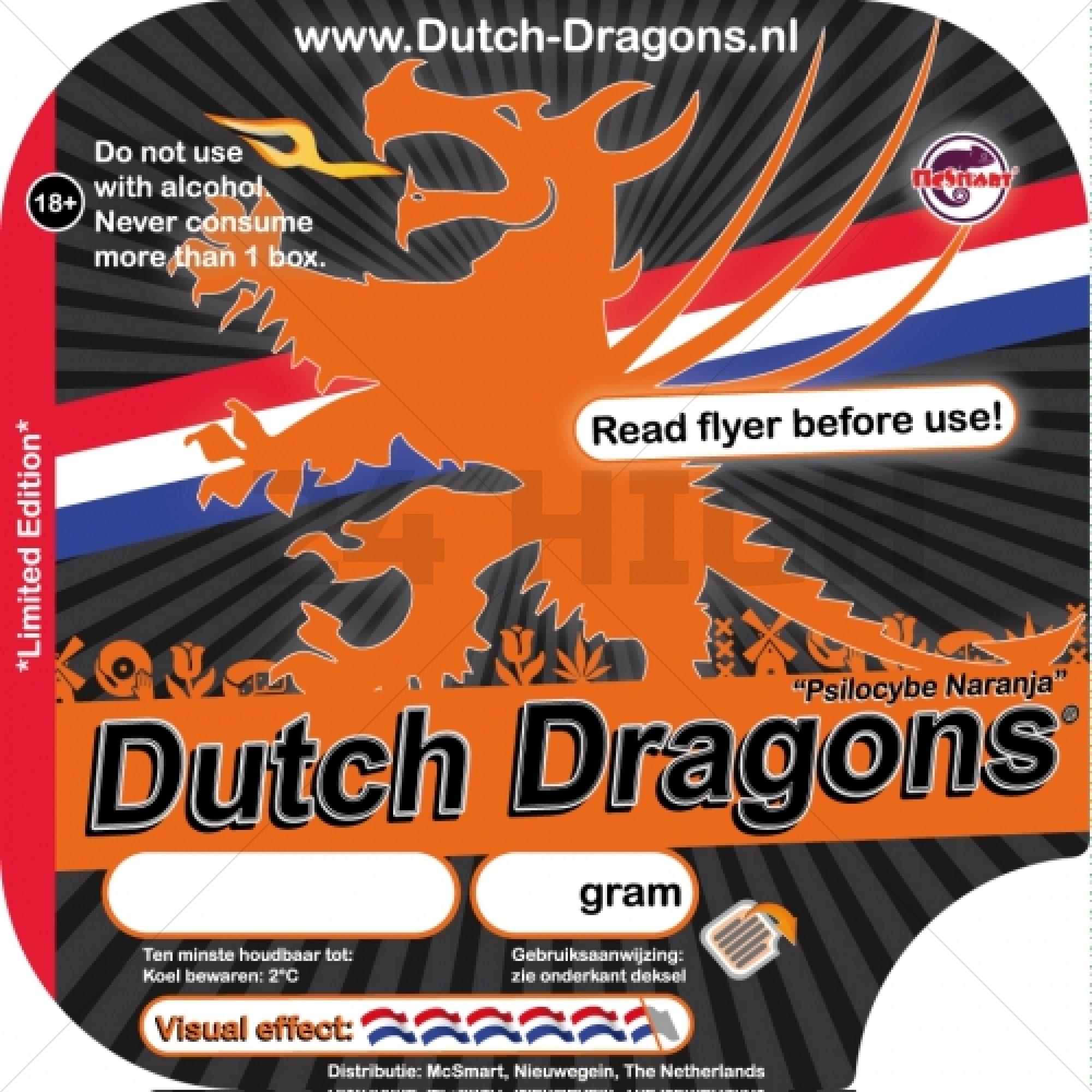 Dutch Dragon Truffels - 15 gram