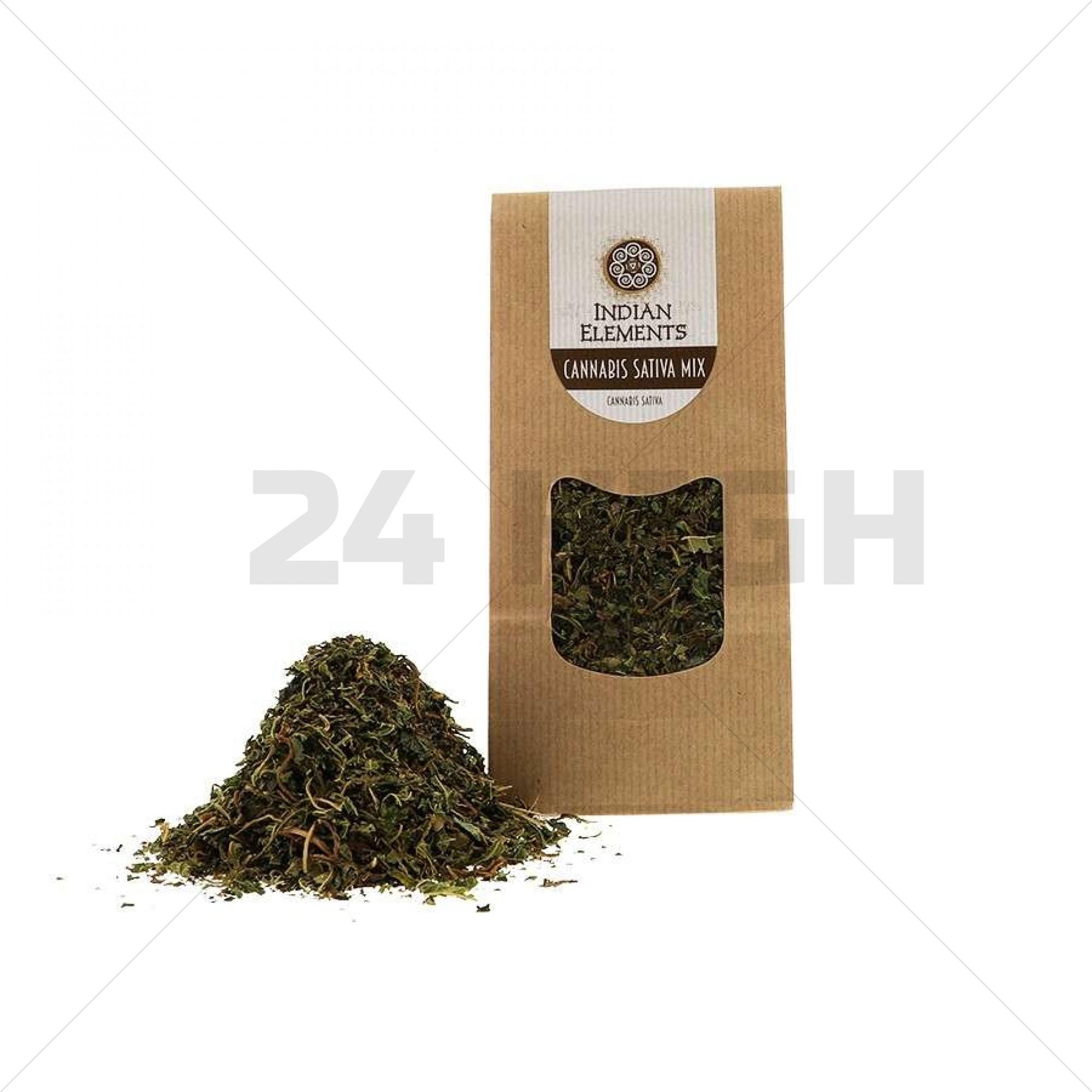 Cannabis Sativa Indian Elements