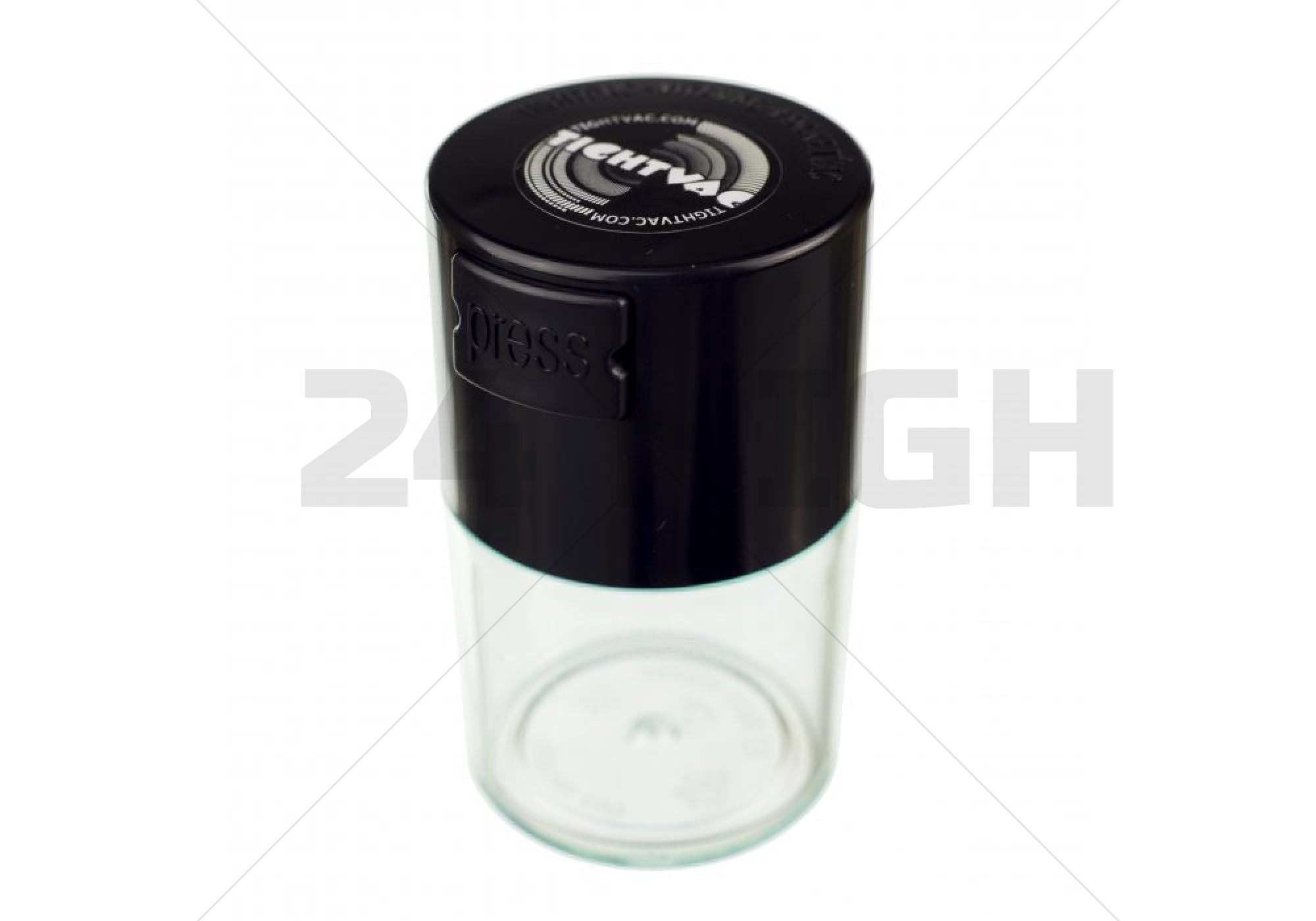 Vitavac 0,06 liter Pocket Clear Black Cap
