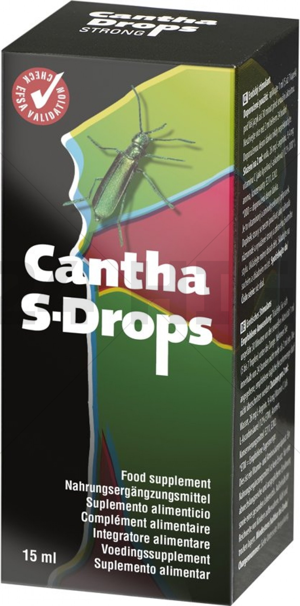 Cobeco Cantha Drops Strong - 15 ml - Stimulerend Middel